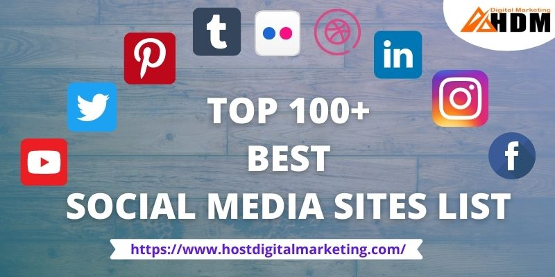 Best Social Media Sites List