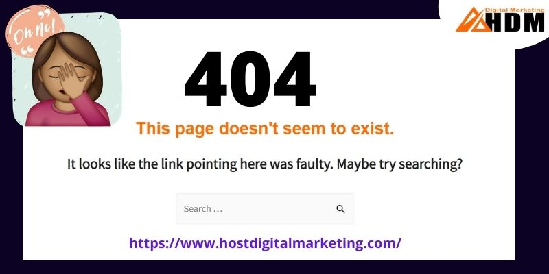 404 Error page thumbnail