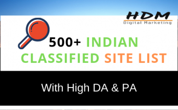 High DA, PA & PR Free Indian Classified Submission Sites List