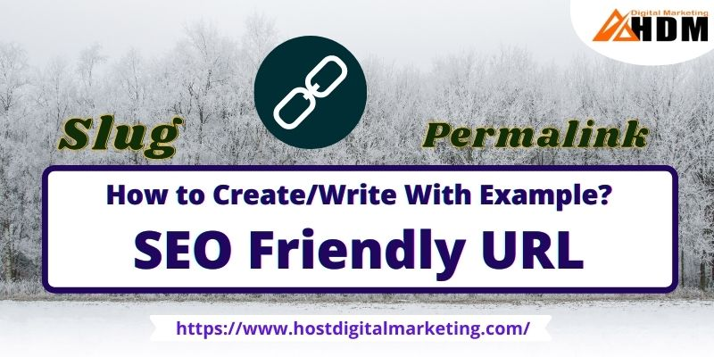 how you can create an SEO friendly URL