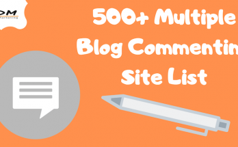500 Multiple Blog Commenting Site List