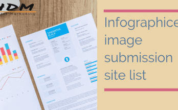 Infographics Image submission site list in india