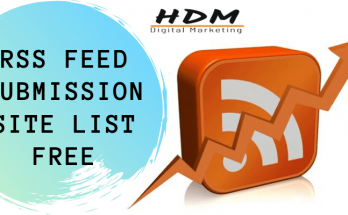 RSS Feed submission site list free