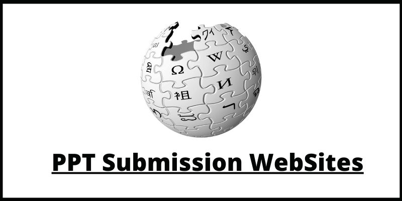 wikipedia submission sites list