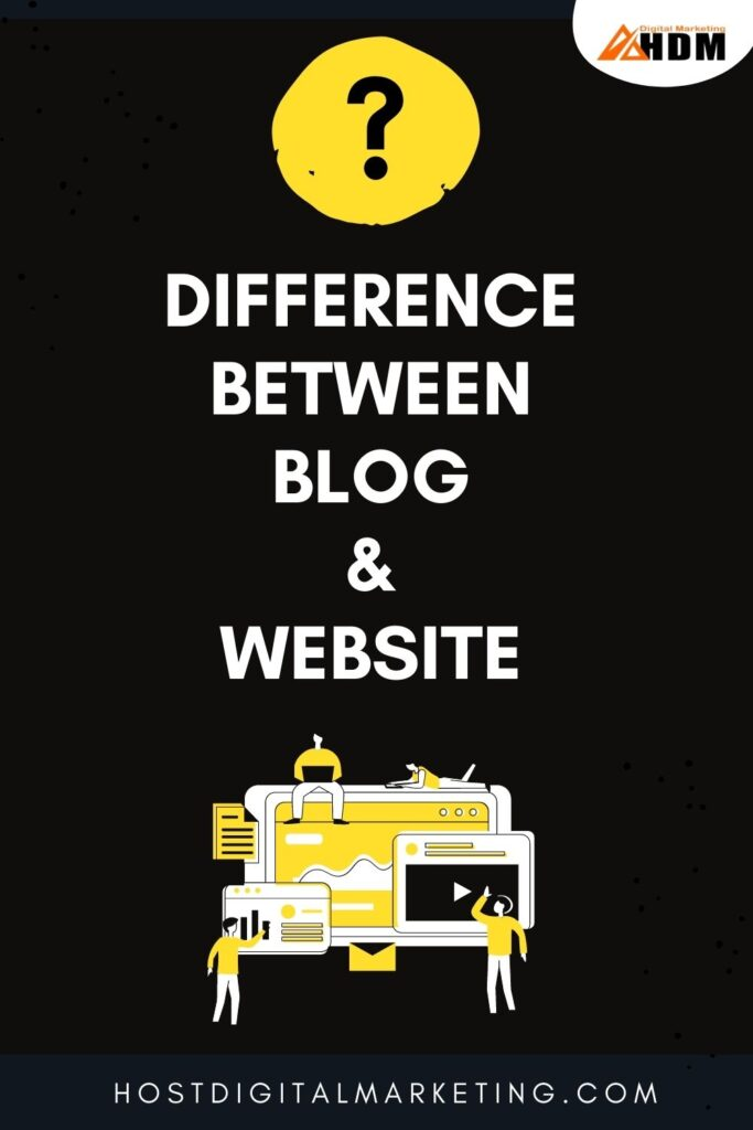 What is the Difference Between Blog & Website