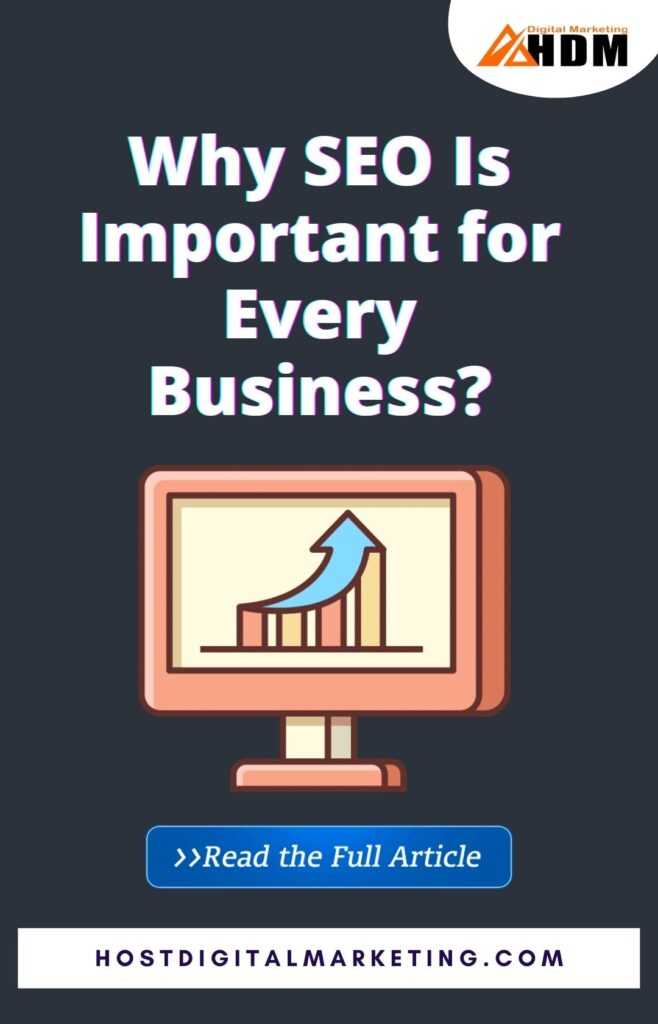 Why SEO Is Most Important for Every Business - Share this image on Pinterest.
