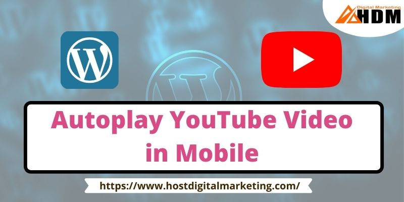 Autoplay YouTube Video In Mobile Live Practice