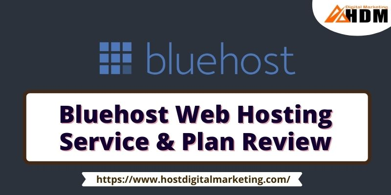 Bluehost Web Hosting Service & Plan Review